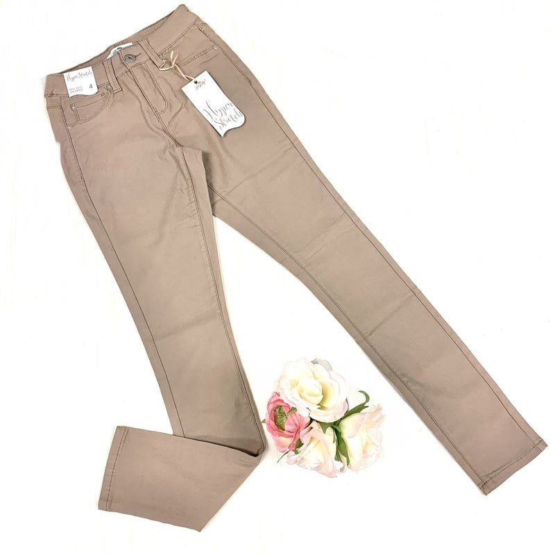 Hyper Stretch Jegging - Tan