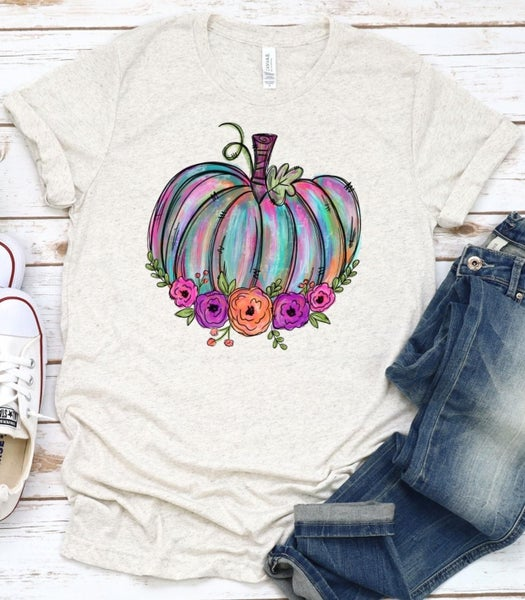 *PREORDER* Pastel Pumpkin Tee