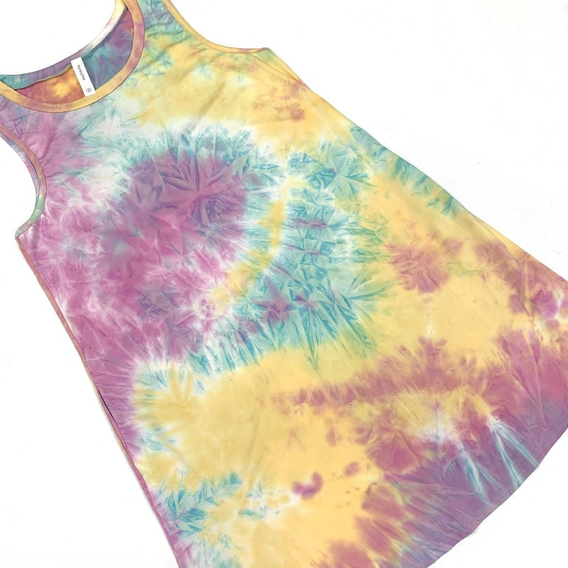 Be My Reason Pastel TieDye Dress