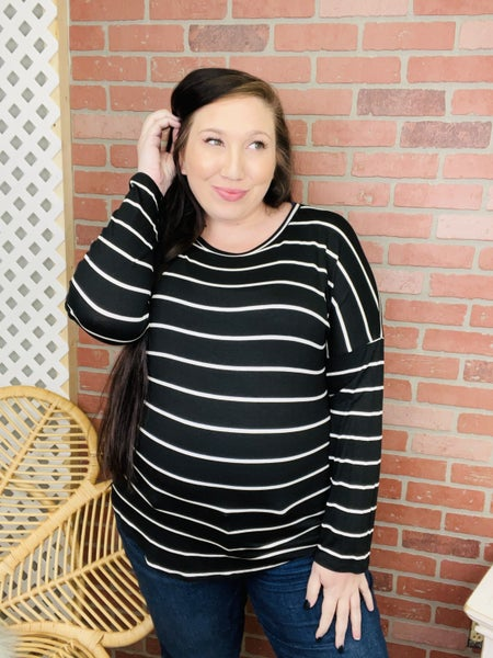 Something To Miss Striped Top (2 Colors)