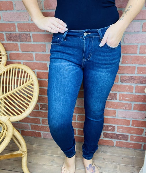 "Judy Blue ""Baby It's Cold Outside"" Thermal Jeans"