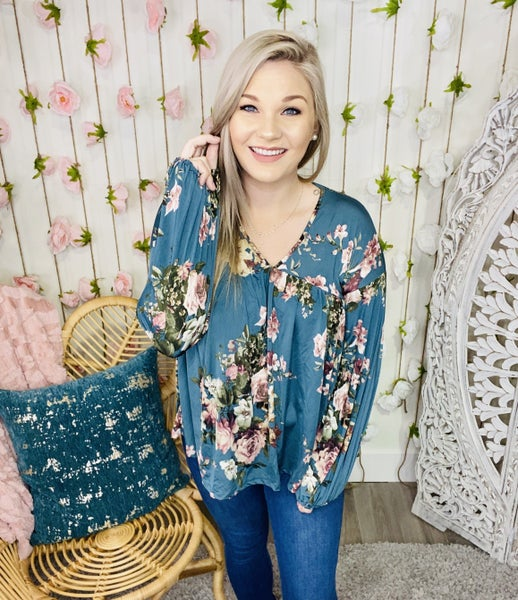 Sought You Out Floral Top