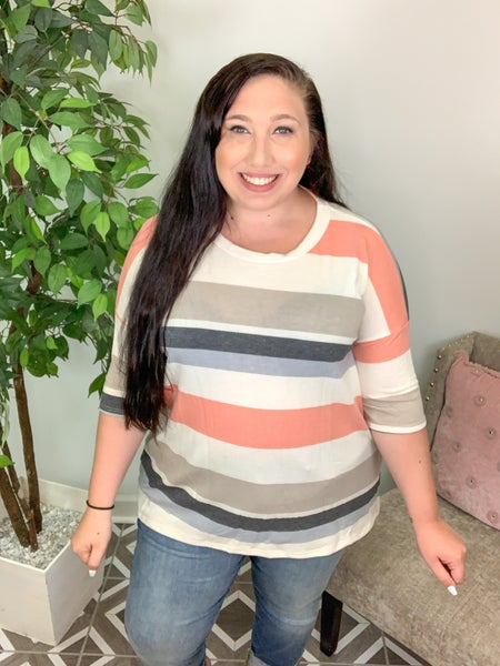 Chill Kind of Day Striped Top