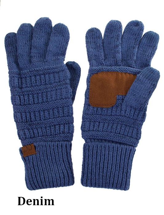 CC Metallic Gloves
