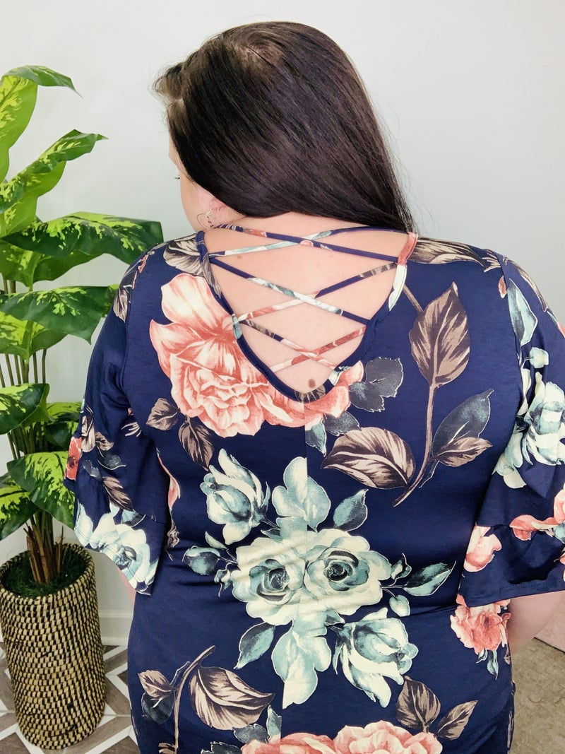 Find My Way To You Floral Top