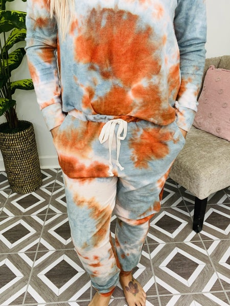 Autumn Breeze TieDye Lounge Pants