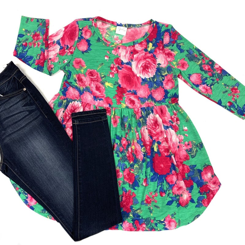 Considerate Of You Floral Top