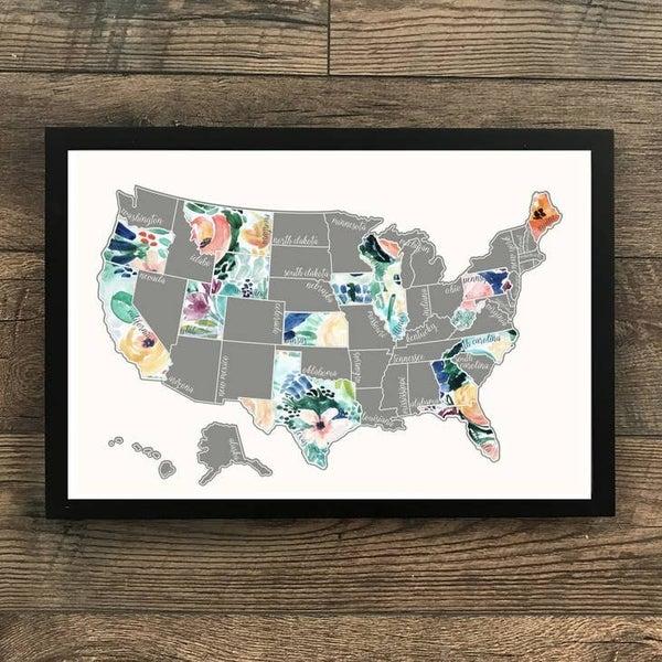 Scratch off US Map