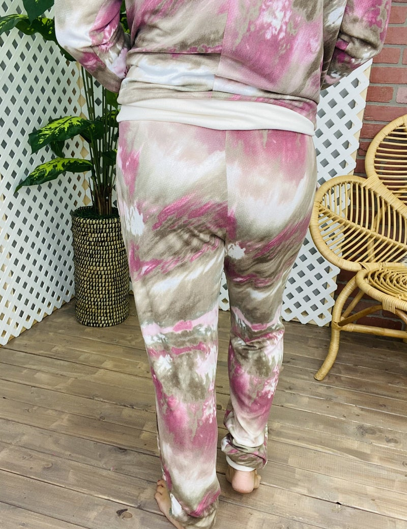 Marbled in Comfort Lounge Pants