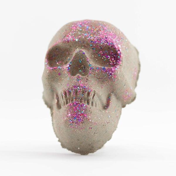 Glitter Skull Bath Bomb