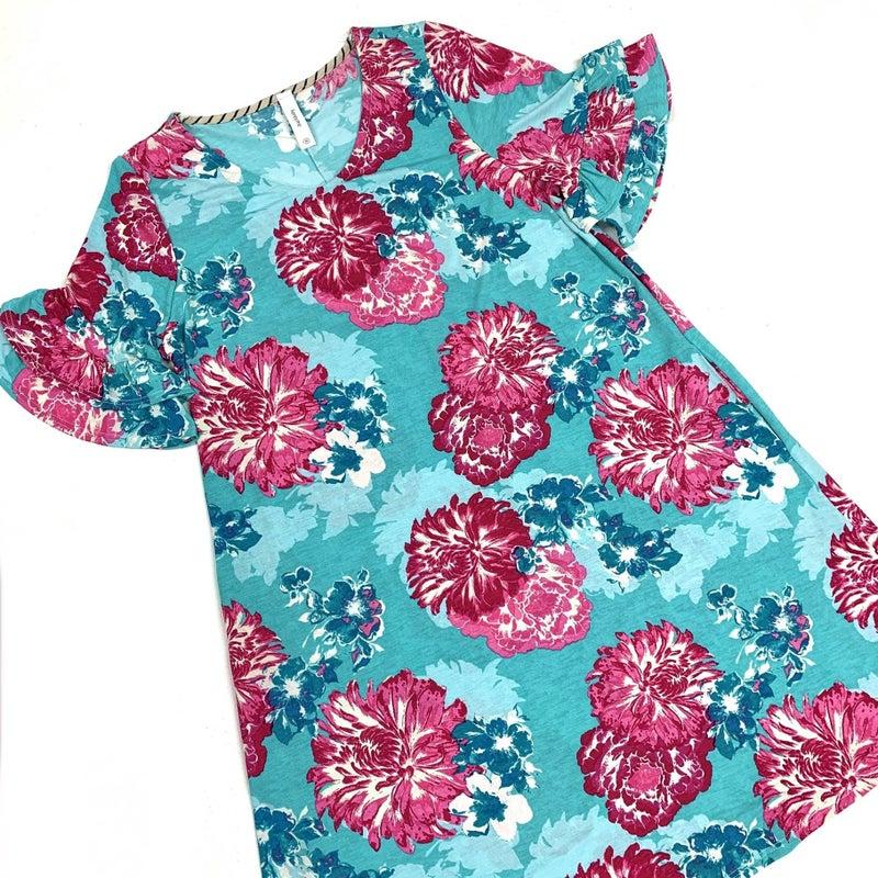 Embrace Your Dreams Floral Dress