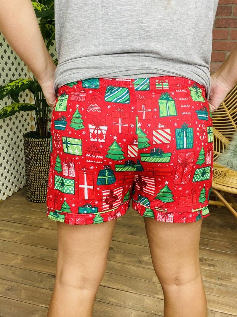 SC Christmas Present Lounge Shorts