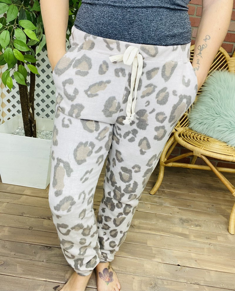 Run Through Your Mind Leopard Lounge Pants