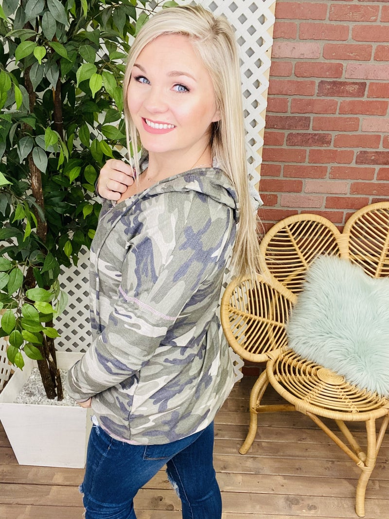 Camouflaged By Nature Camo Hoodie