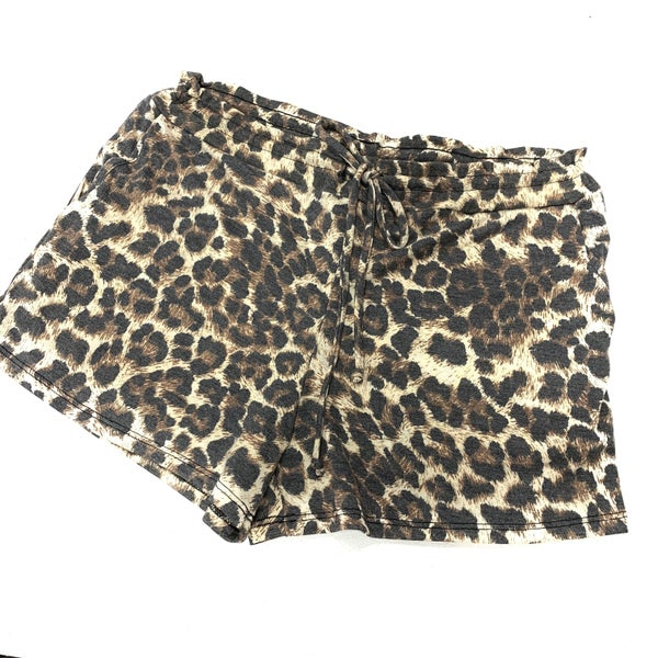 Run Wild Leopard Shorts