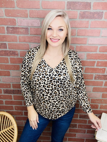 She's A Wild One Leopard Top
