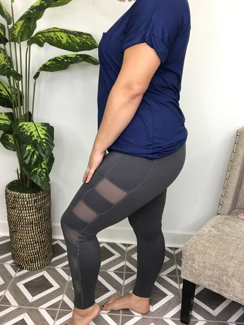 Rae Mode Mesh Side Leggings