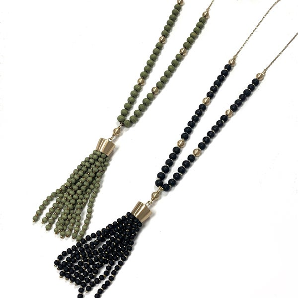 Break The Rules Tassel Necklace