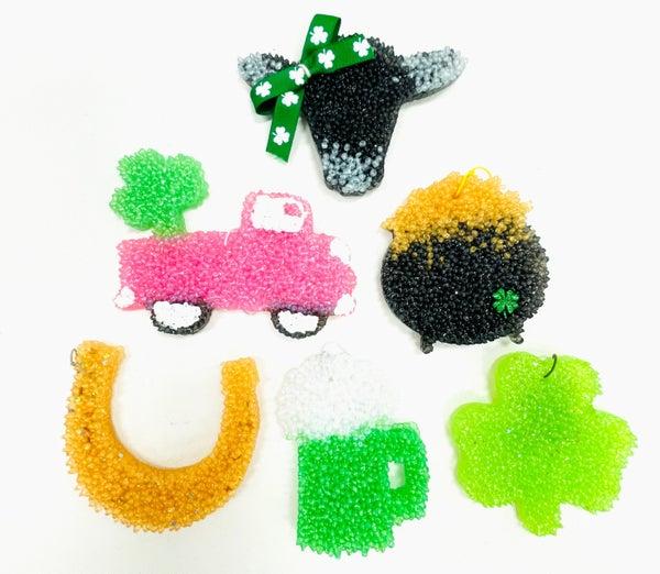 Custom St. Patricks Day Car Freshies