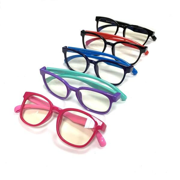 Kids Colored Blue Light Glasses