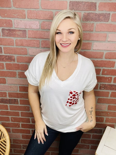 Collecting Hearts Cozy Top (4 Colors)