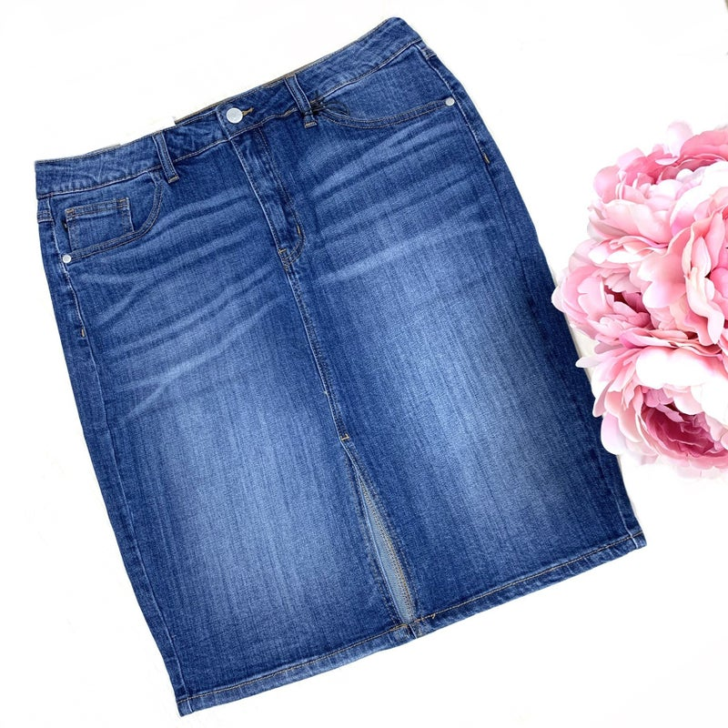 Judy Blue Pencil Skirt