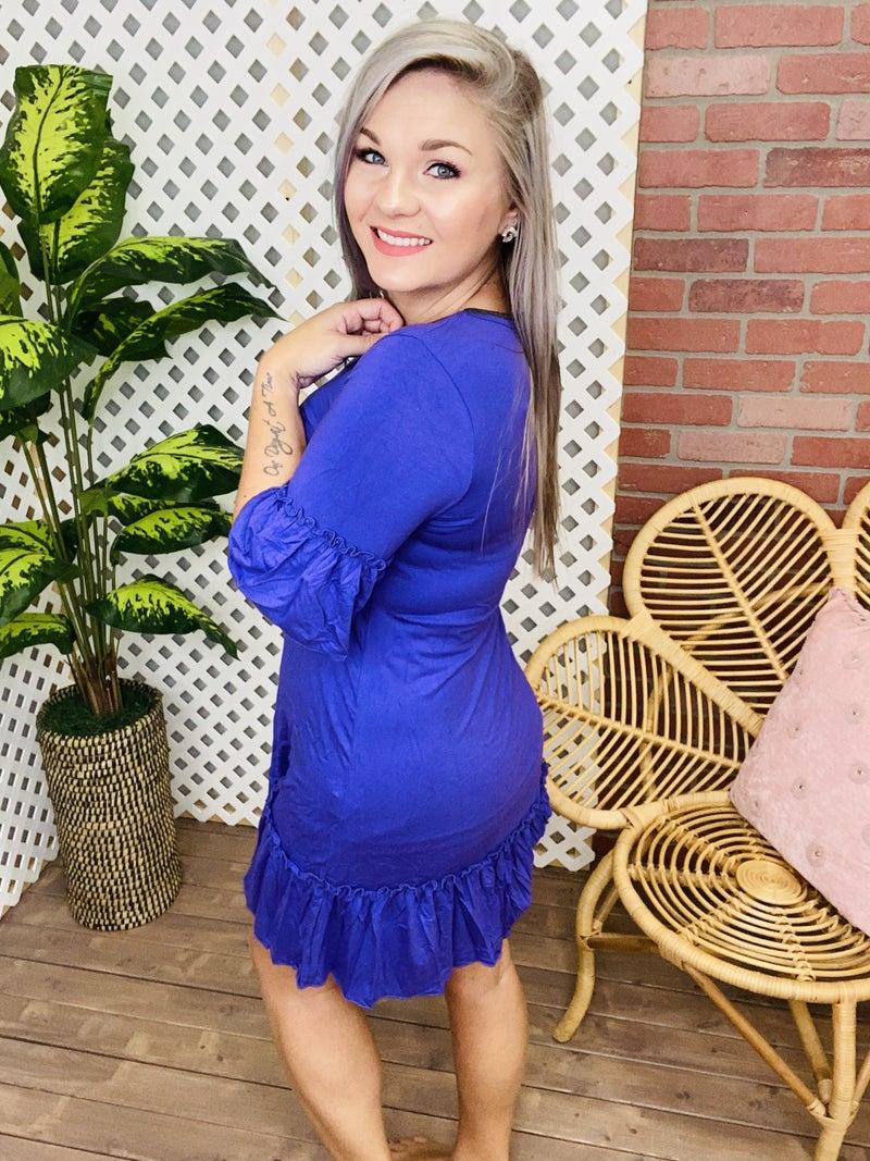Make Me Yours Ruffled Dress