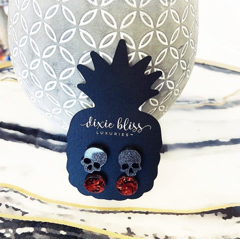 Ruby Halloween Earring Set