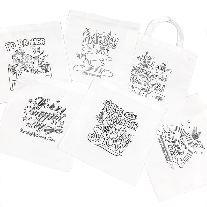 Doodling Tote Bag