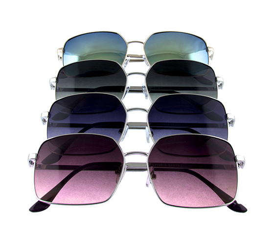 Fly High Silver Framed Aviators