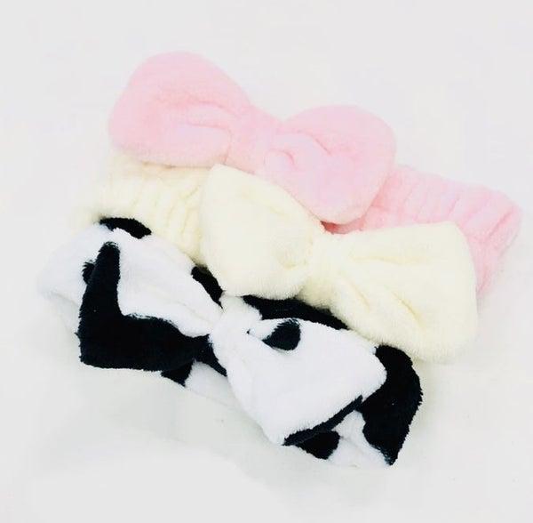 Fuzzy Buddy Spa Headband