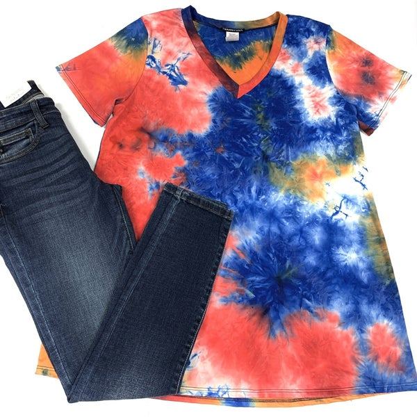 October Sky TieDye Top