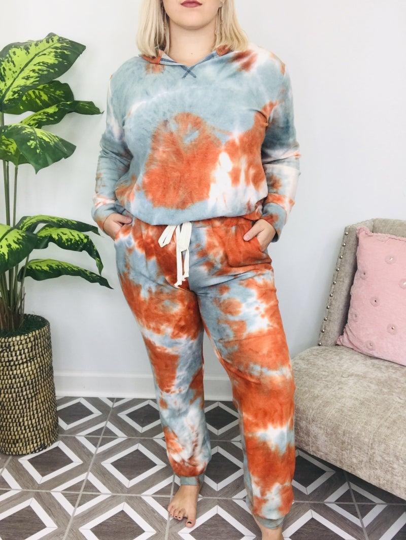 Autumn Breeze TieDye Lounge Pants