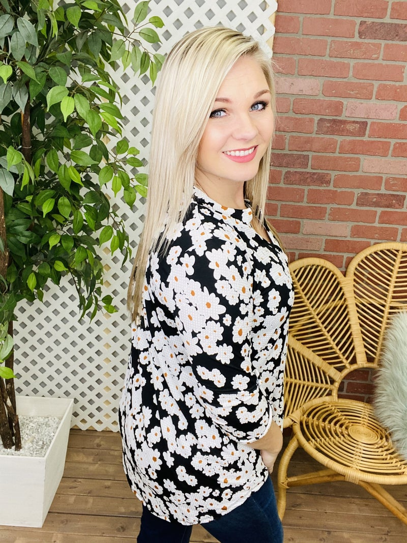 Lost In Time Floral Top