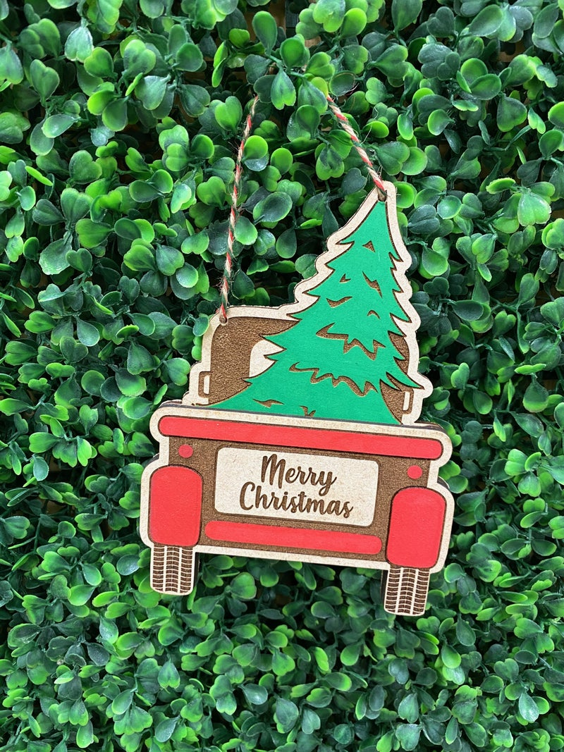 Custom Gift Card Holder Ornament
