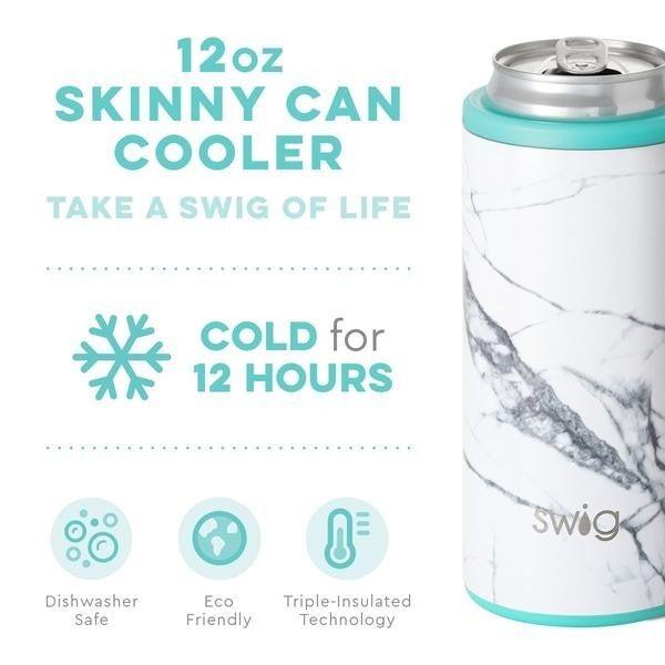 Swig Marble Slab Skinny Cooler