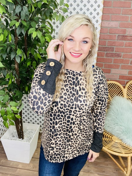 Never Gonna Change Leopard Top