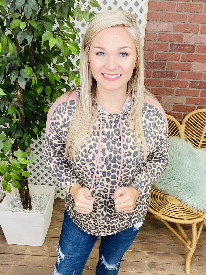Not Even Kitten Leopard Hoodie