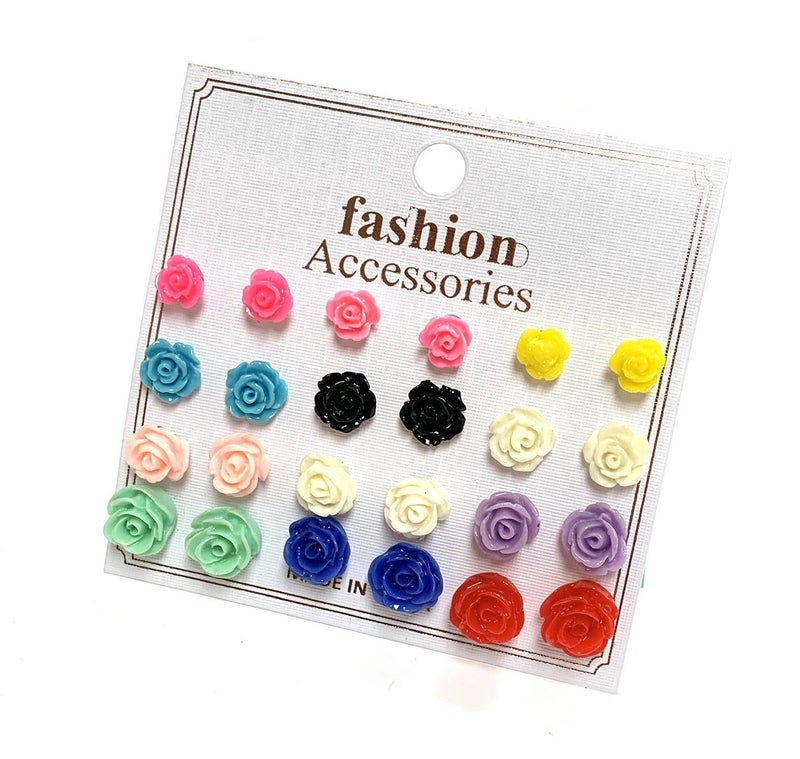 Floral Earring Set