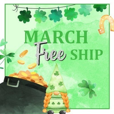 March Free Shipping Club