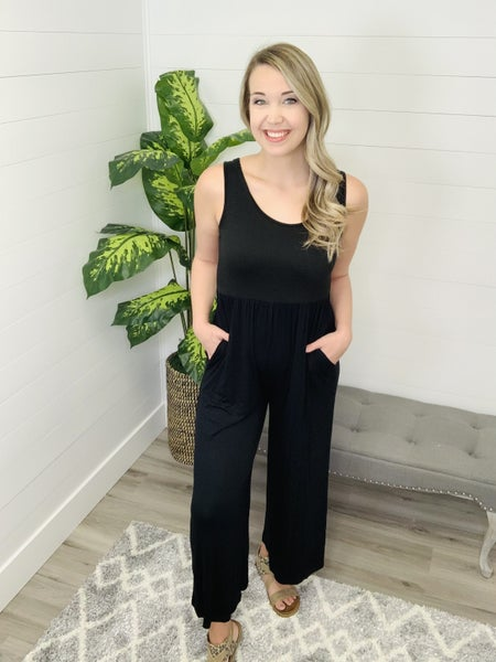 Seen Without You Solid Jumpsuit (2 Colors)