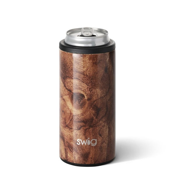 Swig Black Walnut Skinny Cooler