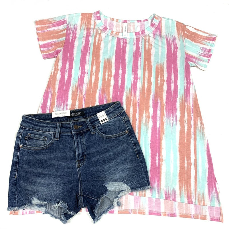Mint to Happen Striped Top
