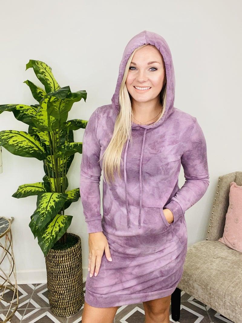 Simply Effortless Hoodie Dress