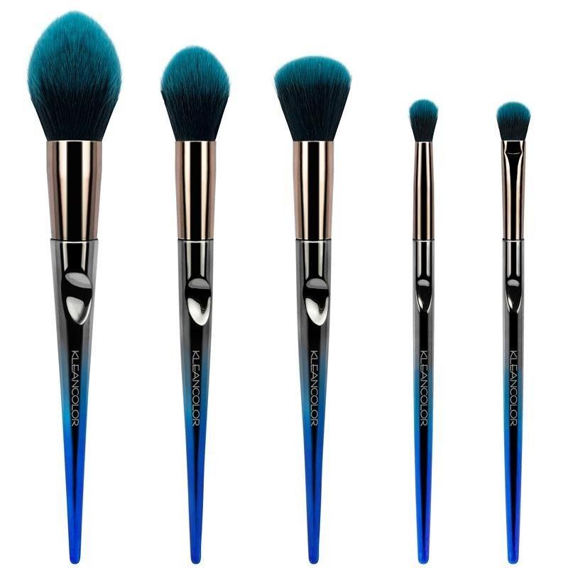 Daily Essentials Face & Eye Brush Set (5pcs)