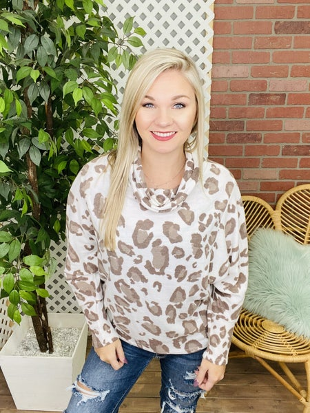 Follow Your Instinct Leopard Top