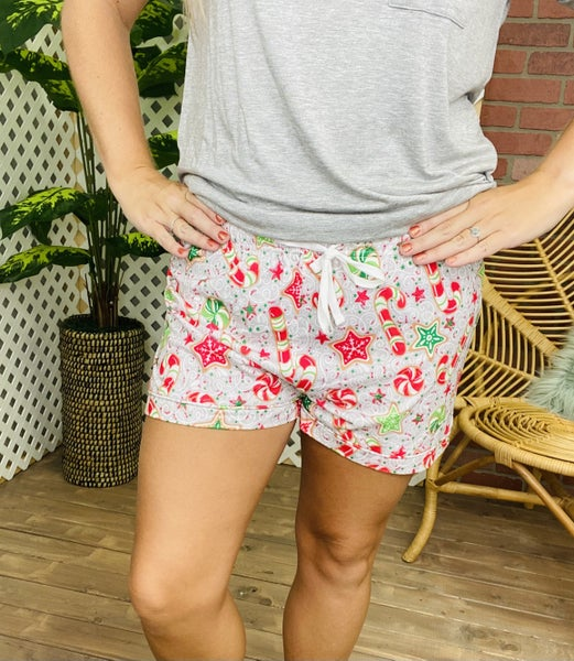 SC Candy Cane Lounge Shorts