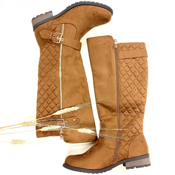 Lead the Way Quilted Boots