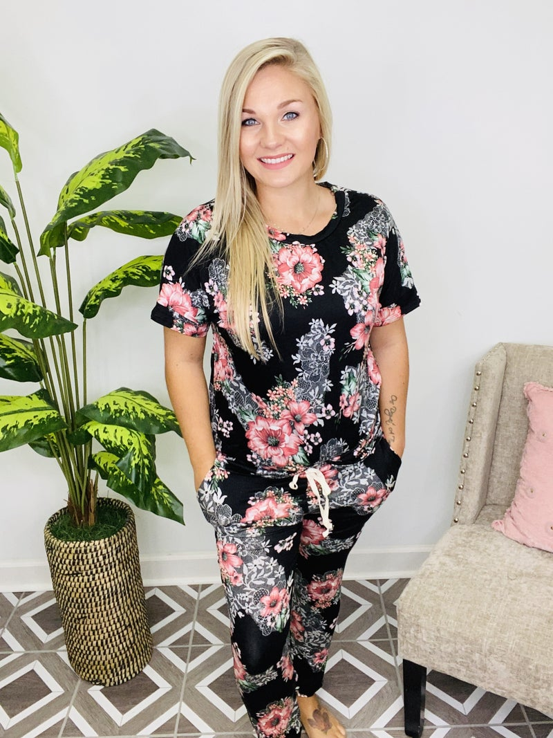 The Perfect Choice Floral Lounge Set