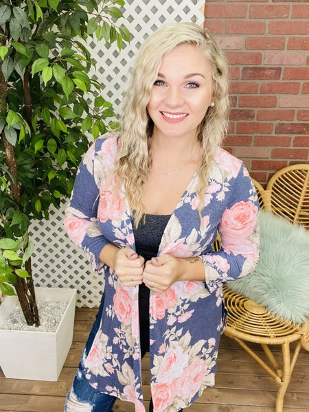 Floral Bliss Cardigan